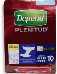 Pañal de Adulto Depend Plenitud 10 U