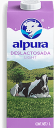 Leche Alpura Deslactosada Light 1 L