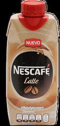 Café Nescafé Latte Tetrapack 330 mL