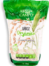 Arroz Aires de Campo  Orgánico 1 Kg