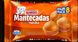 Mantecadas Bimbo Vainilla 31.25 g x 8
