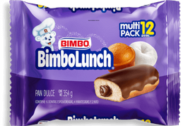 Pan Dulce Bimbo Lunch Varios 12 U