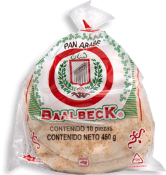 Pan Árabe  Baalbeck 450 g