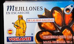 Mejillones Vigilante en Escabeche 115 g