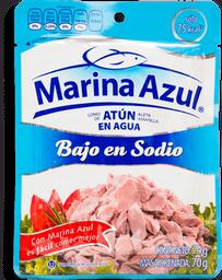 Atún Marina Azul Lomo en Agua Bajo en Sodio 74 g