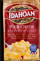 Puré de Papa Idahoan Cuatro Quesos Sobre 113.4 g
