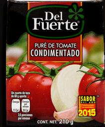 Puré de Tomate Del Fuerte Condimentado 210 g