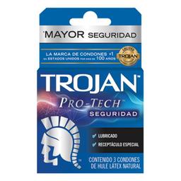 Condones Trojan Clásico 3 U
