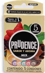 Preservativos Prudence Mix 5 U
