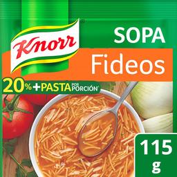 Pasta Para Sopa Knorr de Fideo 115 g