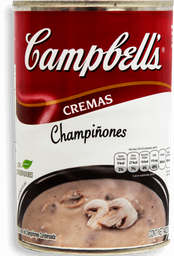 Crema Campbell's de Champiñones 420 g
