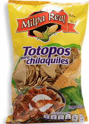 Totopos Milpa Real Para Chilaquiles 500 g
