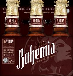 Cerveza Bohemia Obscura 355 mL x 6