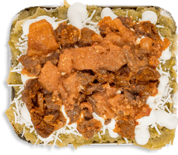 Chilaquiles Aquiles Campechano