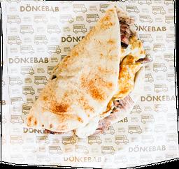 Taco Shawarma con Queso Oaxaca