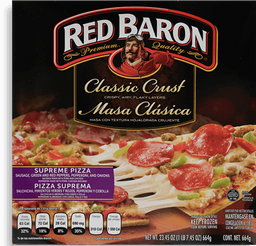 Pizza De Pepperoni Red Baron 664 g