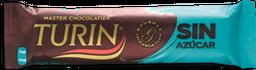 Chocolate Turin Amargo Sin Azúcar 18 g