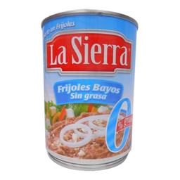 Frijoles Refritos La Sierra Bayo sin Grasa 580 g