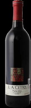 Vino Tinto L.A. Cetto Merlot Botella 750 mL