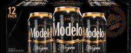 Cerveza Modelo Negra Lata 355 mL x 12