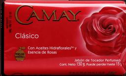 Jabón Camay Perfumado Clásico Con Esencia de Rosas 150 g