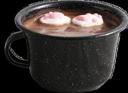 Choco huellita (chocolate caliente)