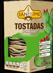 Tostadas Sanissimo Con Nopal Sin Grasa Caja 240 g