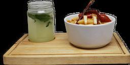 Pasta al Chile + Agua