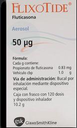 Flixotide Aerosol 50 µg 120 Dosis (0.83 mg)