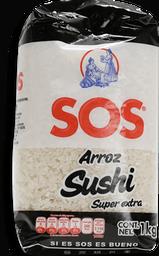 Arroz SOS Para Sushi Súper Extra  1 kg