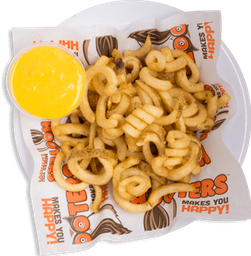 Curly Fries con Queso