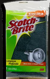 Fibra Esponja Scotch Brite Para Cocina Chica 1 U