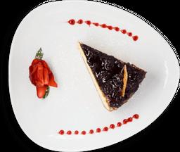 Cheesecake con Coulie de Zarzamora y Frambuesas
