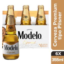 Modelo Especial Cerveza Premium Six Pack