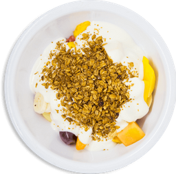 Cóctel con Yogurt y Granola