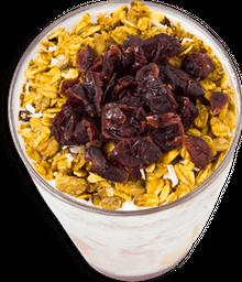 Yogurt con Frutas, Miel de Abeja y Granola