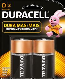 Pilas Duracell D2 2 U