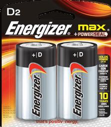 Energizer Max D Con 2