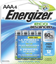 Energizer Eco Advanced Aaa Con 4