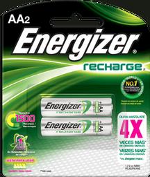 Energizer Recargable Aa Con 2