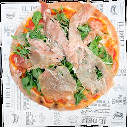 Pizza Arúgula y Prosciutto