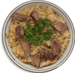 Arroz Frito con Filete de Res