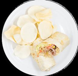 Burrito de Arrachera Texas al Grill
