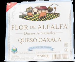 Queso Oaxaca Flor de Alfalfa Orgánico 500 g