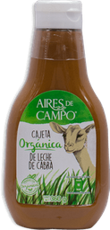 Cajeta Aires Del Campo Orgánica Frasco 275 g