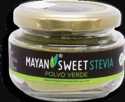 Sustituto de Azúcar Mayan Sweet Stevia Polvo Verde 40 g