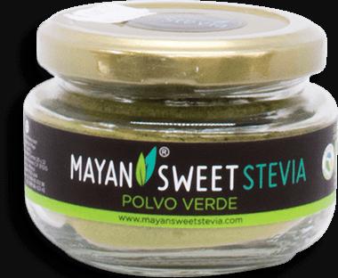 Sustituto de Azúcar Mayan Sweet Stevia Polvo Verde 40 g a