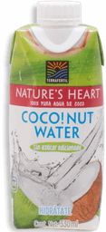 Agua Nature´s Heart de Coco  330 mL