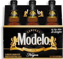 Cerveza Modelo Negra 355 mL x 6