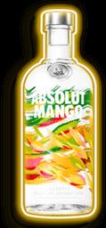 2 u Vodka Absolut Mango 750 mL